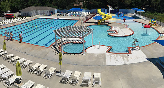 Picture of the Great Bridge/Hickory  Family YMCA outdoor pool