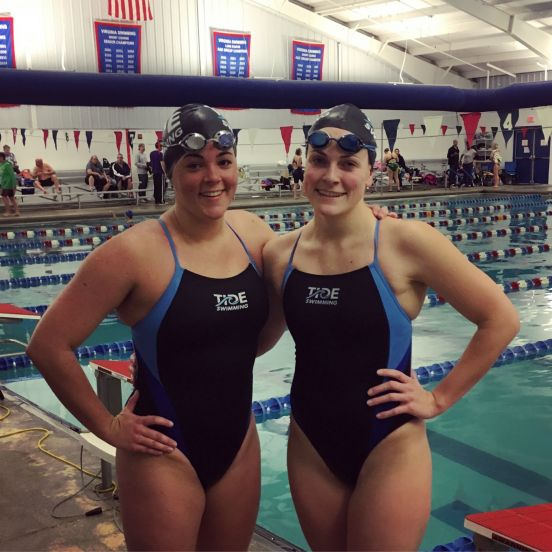 Picture of two teen swimmers