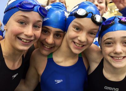 Young female swimmers picture